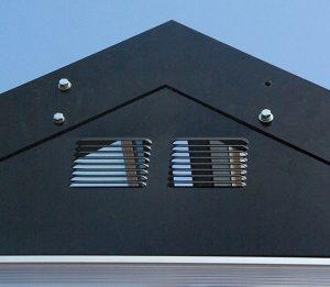 FastPak roof peak detail